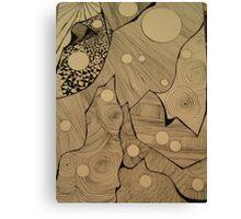 Lines and lines and lines and lines Canvas Print