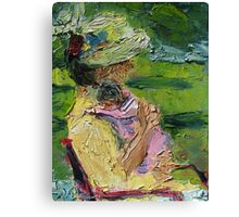 Channeling Cassatt Canvas Print