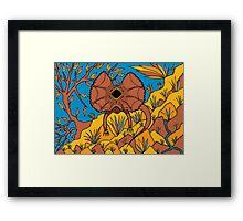 Goolaman - (frilled lizard) irralb season (autumn) Framed Print