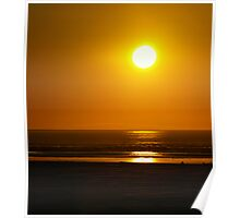 Sunset On The Pacific Ocean Poster
