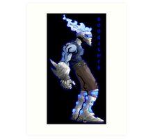 boogie-man concept Art Print