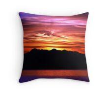 Olympic Sunset Ten Throw Pillow