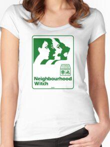 Neighbourhood Witch Women's Fitted Scoop T-Shirt