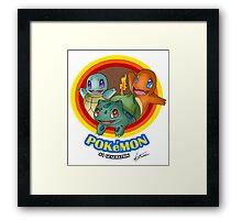 Pokemon #1 generation Framed Print