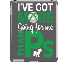 More than Ps iPad Case/Skin