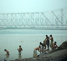 calcutta bridge by Amagoia  Akarregi
