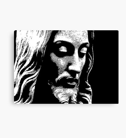 18 Jesus Christ By Chris McCabe - DRAGAN GRAFIX Canvas Print