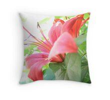 Fiore di Cielo Throw Pillow