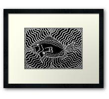 Aarl - (fish) monsoon season Framed Print