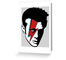 James Dean Bowiefied  Greeting Card