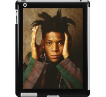 Jean Michel Basquiat Smoking iPad Case/Skin