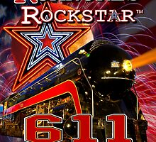 Norfolk & Western #611 - Roanoke's Rockstar by TrainmasterBob