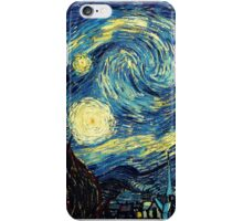 Vincent Van Gogh - Starry night  iPhone Case/Skin