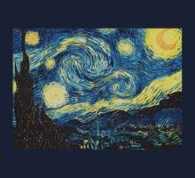 Vincent Van Gogh - Starry night  T-Shirt