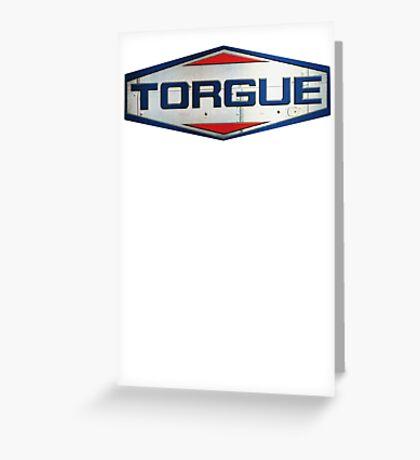 Torgue Logo v.2 Greeting Card