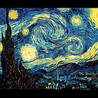 Vincent Van Gogh - Starry night  by Selfcontrol