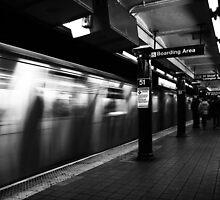 NYC Subway by Jasper Smits