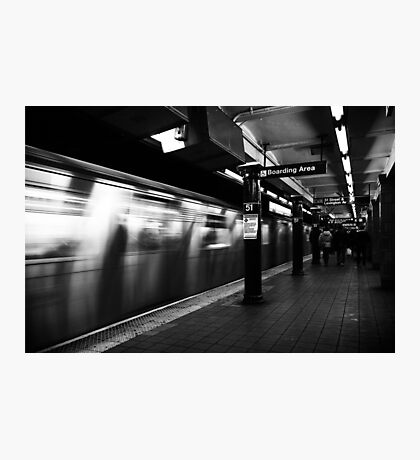 NYC Subway Photographic Print