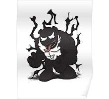 Venom Panda Poster