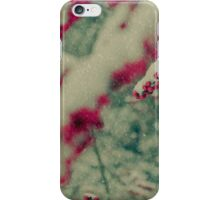 Wandering on a Snowy Day iPhone Case/Skin