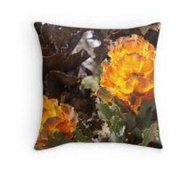 Royal Hakea (Hakea Victoria) close up Throw Pillow