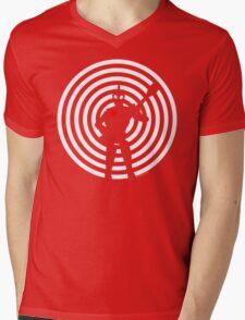 rock-it-boy! : negative space remix Mens V-Neck T-Shirt