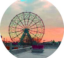 Ferris Wheels on Fire by cavenyanson