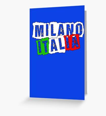 Milano Italia (1) Greeting Card
