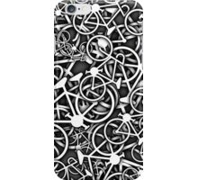 Tangled Up in Bikes 3 - Grey iPhone Case/Skin