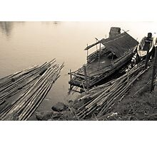 River Traders Photographic Print