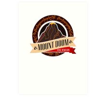 Mt. Doom Fine Jewelry Art Print