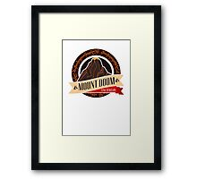 Mt. Doom Fine Jewelry Framed Print