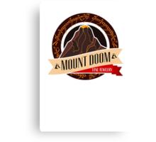 Mt. Doom Fine Jewelry Canvas Print