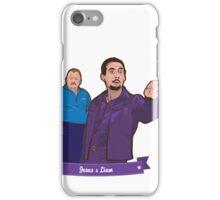 Lebowski's Jesus & Liam iPhone Case/Skin
