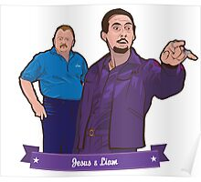 Lebowski's Jesus & Liam Poster