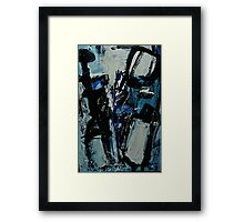 Blue Boy Redux Framed Print