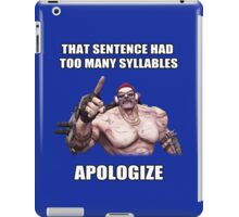 Mr.Torgue Quote iPad Case/Skin