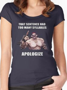 Mr.Torgue Quote Women's Fitted Scoop T-Shirt