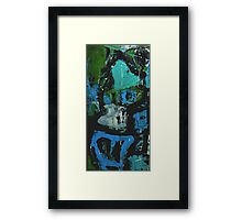 Collapse Of The House Of Cards Framed Print