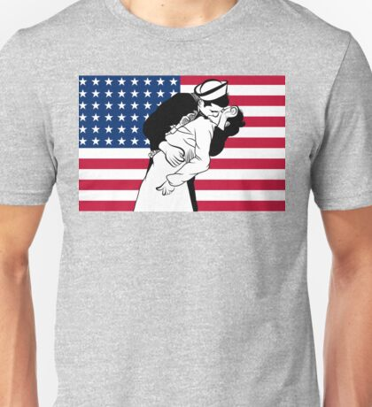 Newyork Kiss /  V-J day  Unisex T-Shirt