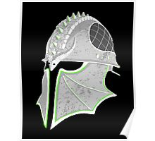 Inquisition Distressed Helm Poster