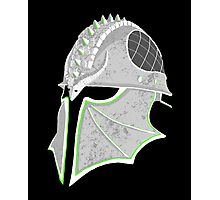 Inquisition Distressed Helm Photographic Print