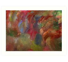 Pale Abstract Art Print