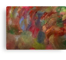 Pale Abstract Canvas Print