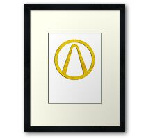 Borderlands Logo Framed Print
