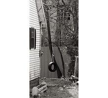 Backyard Swing Photographic Print