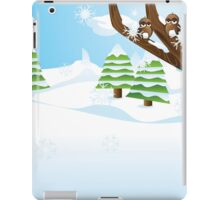 Birds on branch iPad Case/Skin