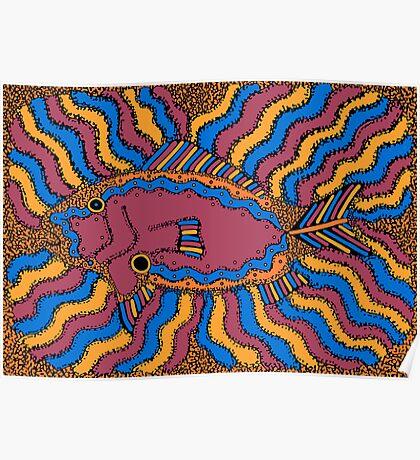 Aarl - (fish) barrgan season (winter) Poster