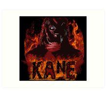 kane - hellfire & brimstone Art Print