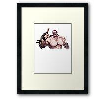 Mr. Torgue Framed Print